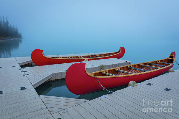 Wall Art - Photograph - Two Canoes by Inge Johnsson