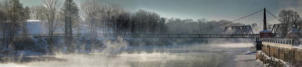 Photograph - Two Cent Bridge At -5f by John Meader