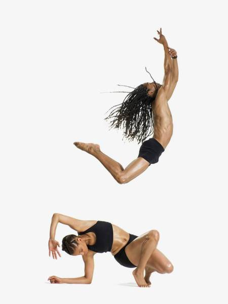 Look Away Photograph - Two Dancers Performing by Image Source