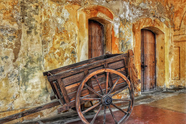 Wall Art - Photograph - Two Doors And A Wagon 2019 by Kathi Isserman