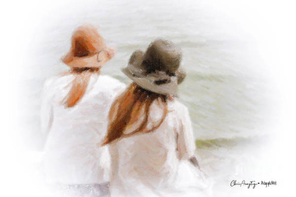 Painting - Two Dreamers by Chris Armytage