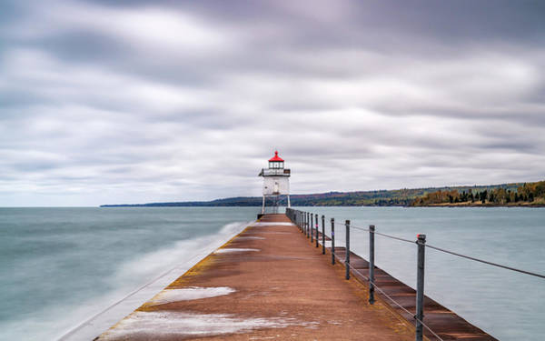 Photograph - Two Harbors Lighthouse by Framing Places