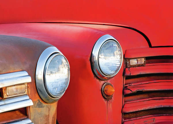 Wall Art - Photograph - Two Headlights by Todd Klassy