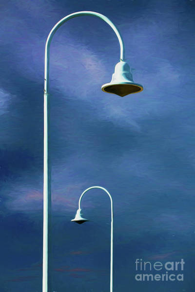 Wall Art - Photograph - Two Lamps by Sheila Smart Fine Art Photography