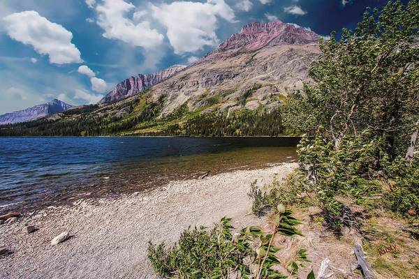 Digital Art - Two Medicine Area Of Glacier Nation Park. by Rusty R Smith