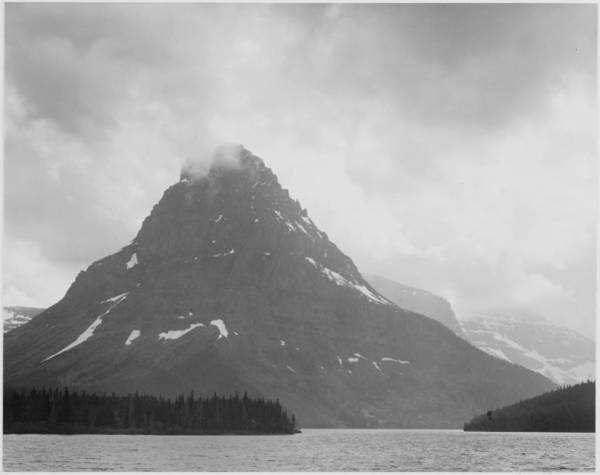 Montana Photograph - Two Medicine Lake, Glacier National Park by Buyenlarge