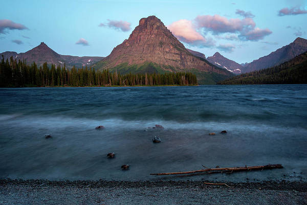 Photograph - Two Medicine Lake  by Harriet Feagin
