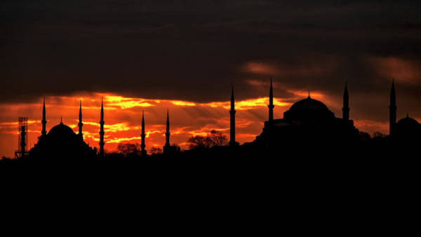 Photograph - Two Mosques by Fabrizio Troiani