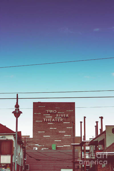 Wall Art - Photograph - Two River Theater Street Sign by Colleen Kammerer