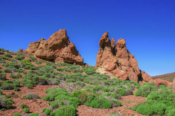 Photograph - Two Rocks In The Teide National Park by Sun Travels