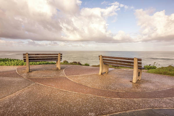 Wall Art - Photograph - Two Seats To A View by Joseph S Giacalone