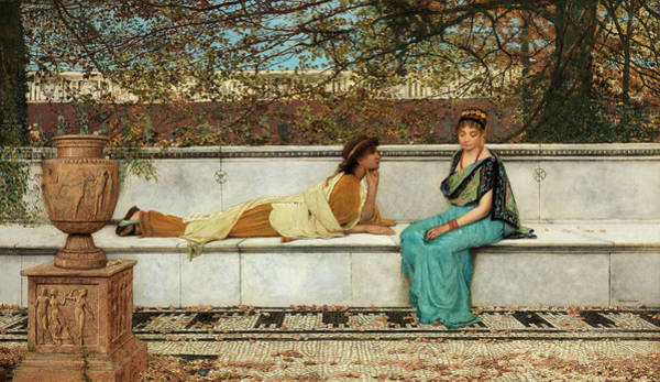 Wall Art - Painting - Two Thousand Years Ago by John Atkinson Grimshaw