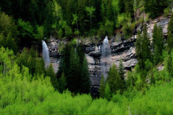 Photograph - Two Waterfalls by Dan Friend