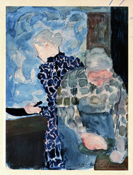 Wall Art - Painting - Two Women In Interior - Digital Remastered Edition by Edouard Vuillard