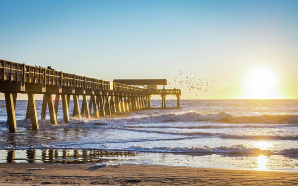 Photograph - Tybee Sunrise by Framing Places