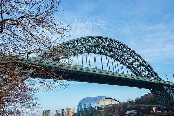 Photograph - Tyne Bridge And Sage Gateshead by Iordanis Pallikaras