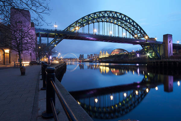 Wall Art - Photograph - Tyne Bridge, Newcastle-gateshead, Tyne And Wear by Rob Cole