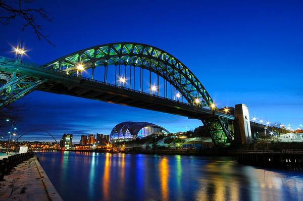 Gateshead Millennium Bridge Photograph - Tyne Bridge - Newcastle Upon Tyne by Sergio Amiti