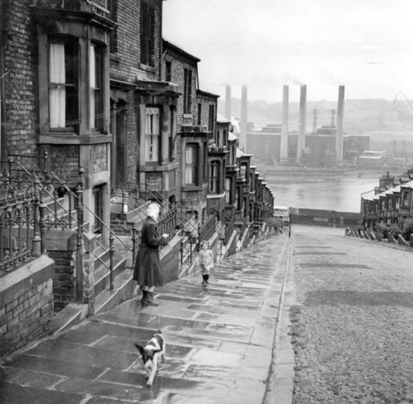 Newcastle Upon Tyne Photograph - Tyne Street by Bert Hardy