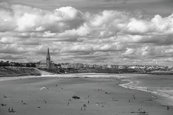 Sea Wall Art - Photograph - Tynemouth Coastline by Iordanis Pallikaras