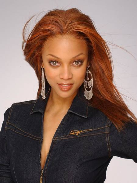 Talk Show Host Photograph - Tyra Banks Portrait Session by Harry Langdon