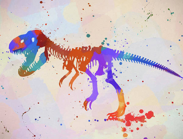 Wall Art - Painting - Tyrannosaurus by Dan Sproul