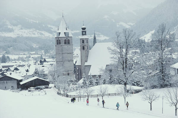 Photograph - Tyrolean Churches by Slim Aarons