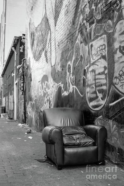 Wall Art - Photograph - U Street Chair Washington Dc by Edward Fielding