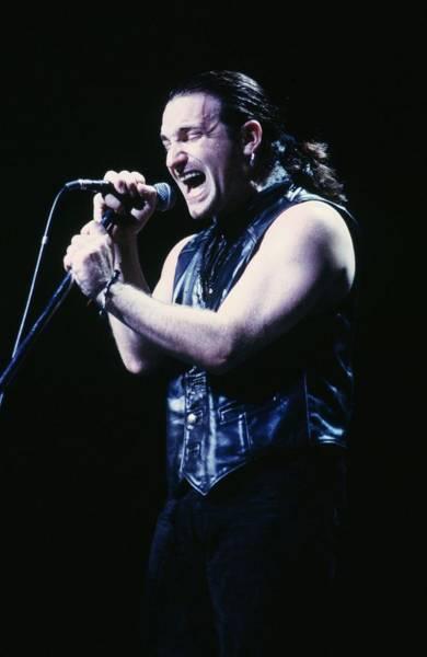 U2 Photograph - U2 In Concert by George Rose
