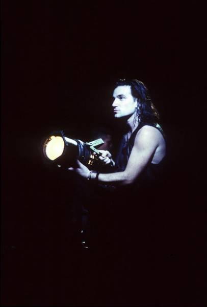 U2 Photograph - U2 Performs In Minnesota by Jim Steinfeldt
