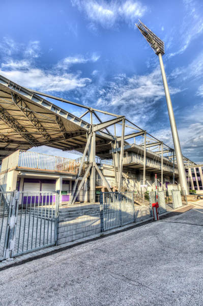 Wall Art - Photograph -  Ujpest Fc Club Stadium  by David Pyatt