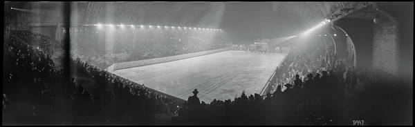 Wall Art - Photograph - Uline Ice Arena, Opening Night by Fred Schutz Collection