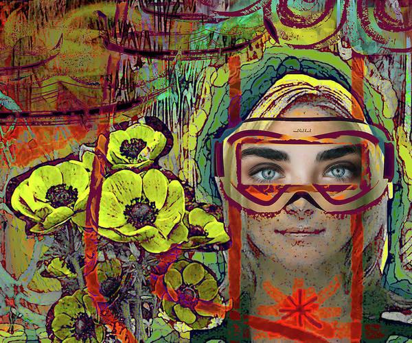 Wall Art - Digital Art - Ultrasonic by Alexandra Vusir