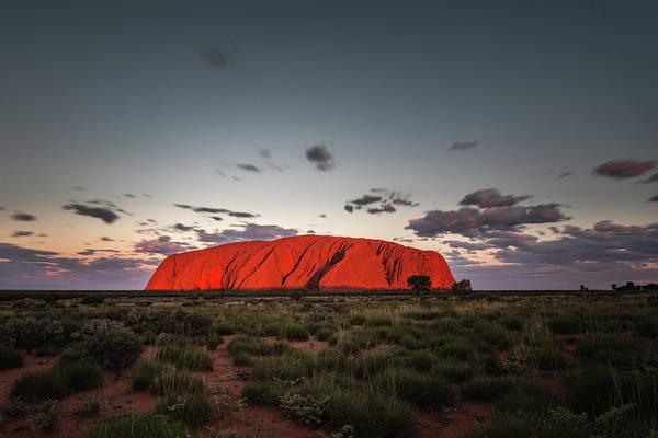 Photograph - Uluru by Francesco Riccardo Iacomino