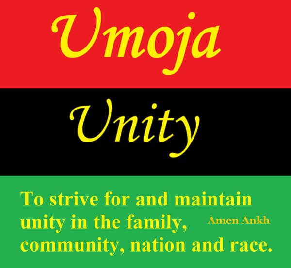 Digital Art - Umoja Unity by Adenike AmenRa