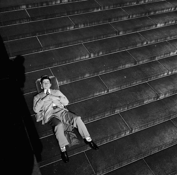 Resting Photograph - Un Steps Rest by Douglas Grundy