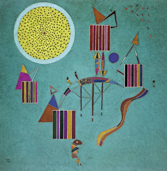 Wall Art - Painting - Una Festa Privata, 1942 by Wassily Kandinsky