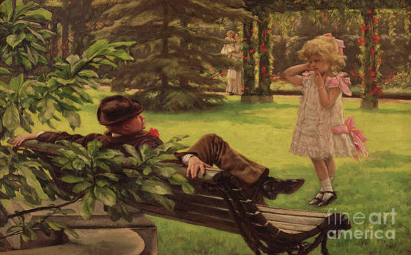 Wall Art - Painting - Uncle Fred by James Jacques Joseph Tissot