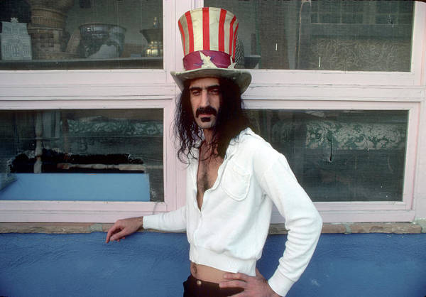 American Culture Photograph - Uncle Zappa Wants You by Michael Ochs Archives