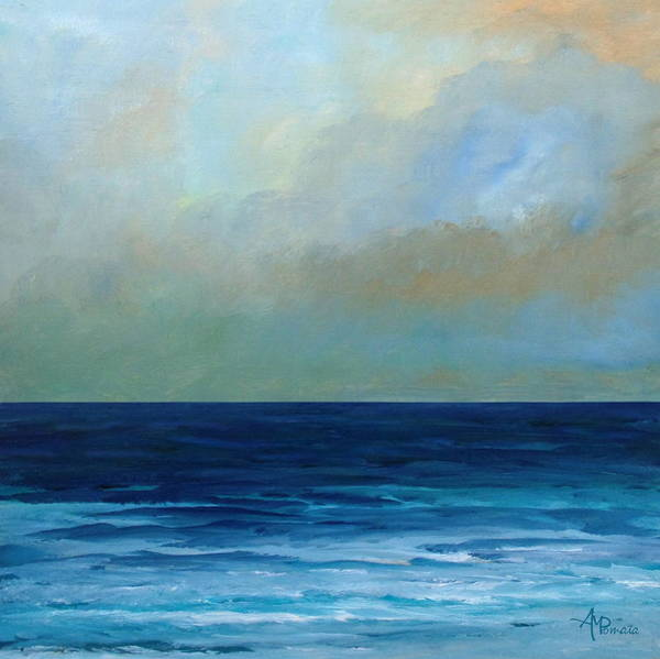 Painting - Uncluttering Sea by Angeles M Pomata