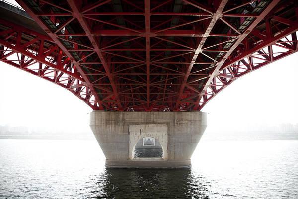 Charles Bridge Photograph - Under Bridge by © Charles Michael Photography