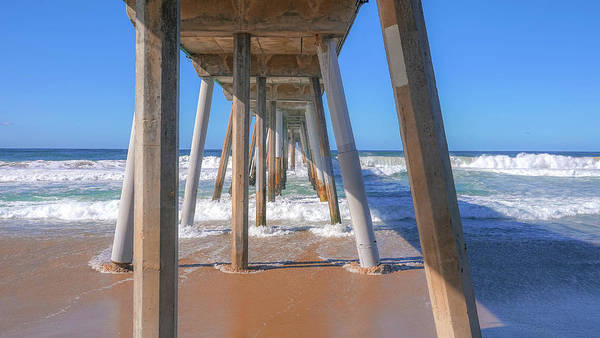 Photograph - Under Hermosa In Blue  by Michael Hope
