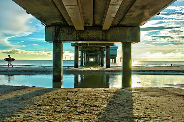 Under Pier 60 Art Print