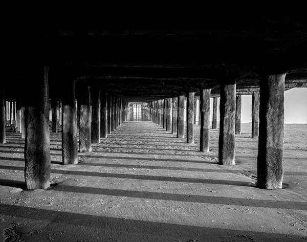 Wall Art - Photograph - Under The Boardwalk by Martin Newman