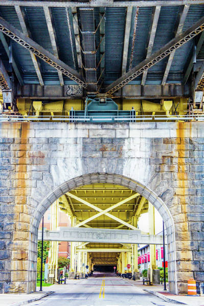 Wall Art - Photograph - Under The Bridge At Louisville  by Art Spectrum