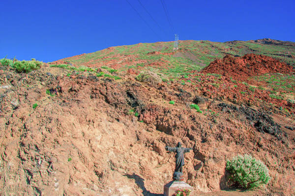 Photograph - Under The Cableway To Mount Teide by Sun Travels