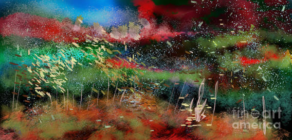 Wall Art - Digital Art - Under The Deep Blue Sea by Julie Grimshaw