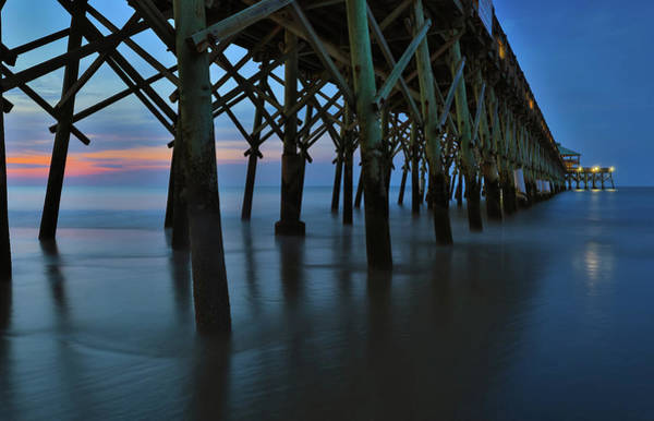 Photograph - Under The Folly Beach Fishing Pier by Dan Sproul