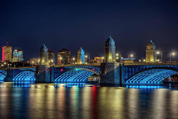Photograph - Under The Longfellow Bridge - Boston by Joann Vitali