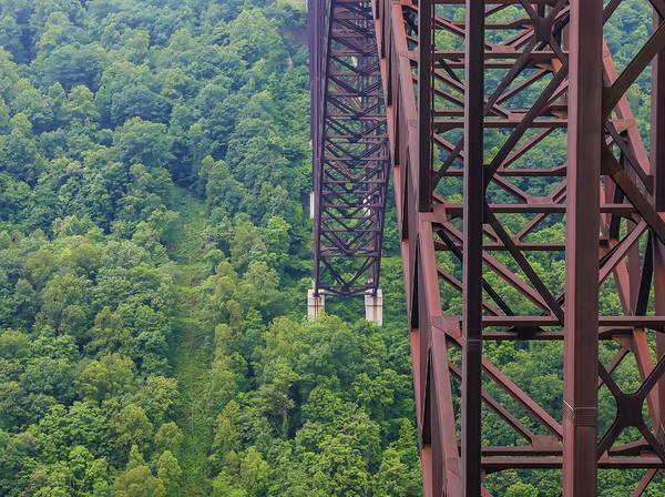 Photograph - Under The New River Gorge Bridge by Dan Sproul